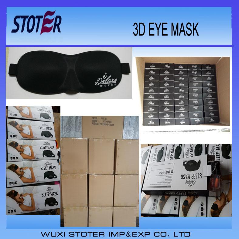 Hot Sale 3D Luxury Travel Sleep Eye Masks