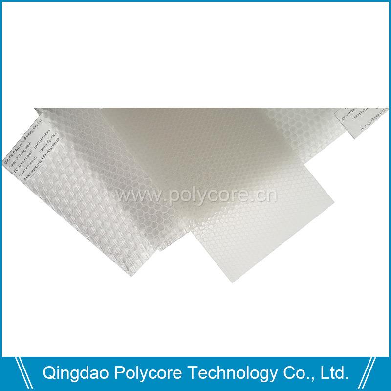 Plastic Honeycomb Board (PC6.0) Transparent PC Honeycomb Core