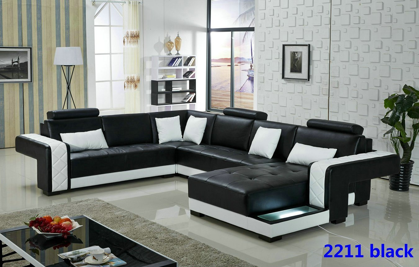 China 2016 new design modern living room sofa photos for Latest drawing room design