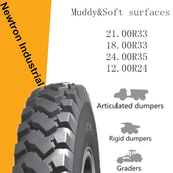 18.00r33 Wholesale Boto Dumper Earthmover Tyre, OTR Tyre