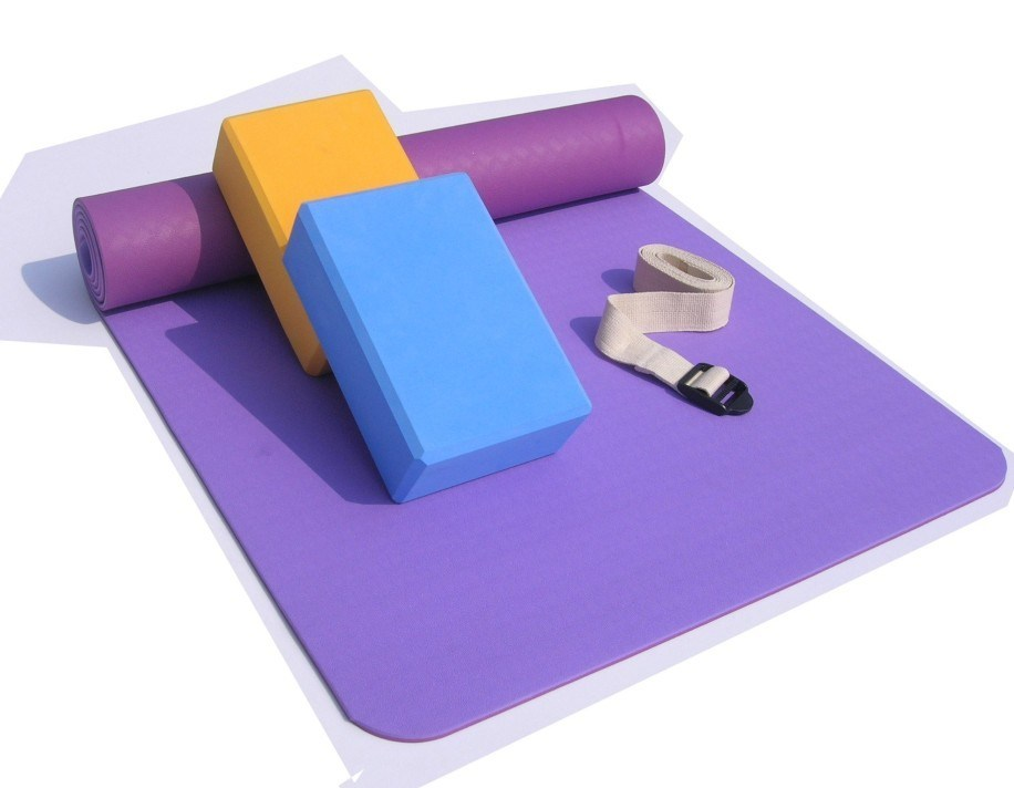 Eco-Friendly Yoga Mat, Rubber Yoga Mat