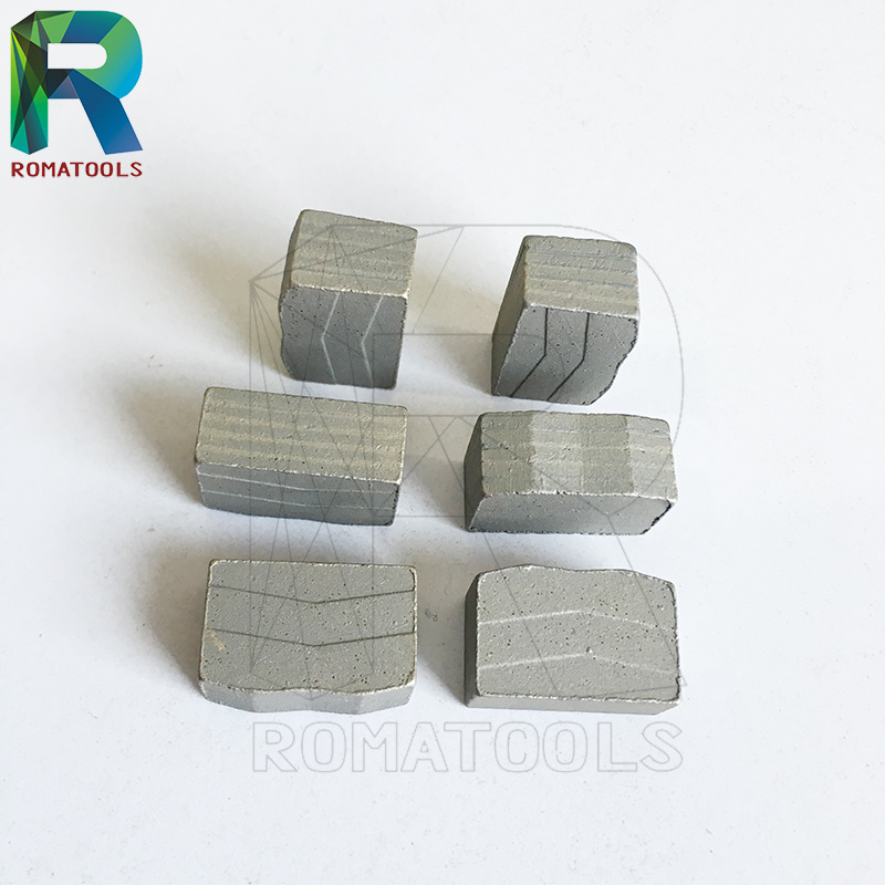 24X8X13mm Diamond Segments for Marble Cutting