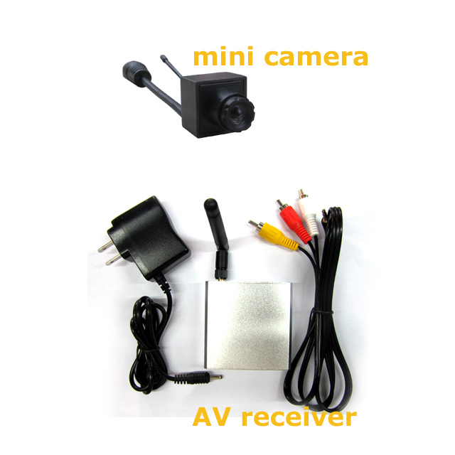 5.8GHz Mini 16chs Wireless AV Receiver with 0.008lux 520tvl Wireless Camera