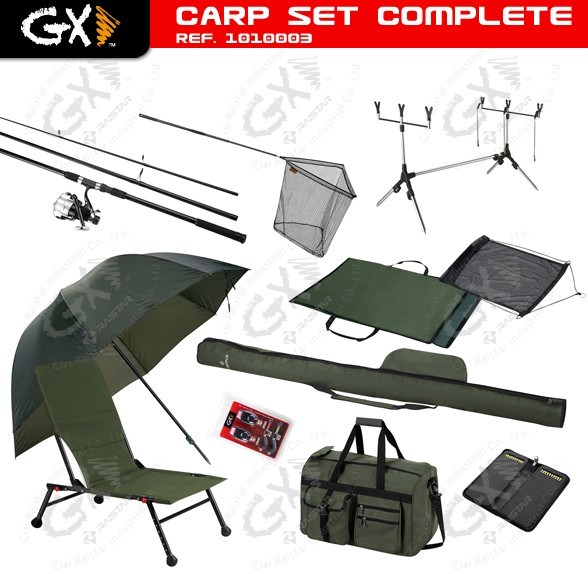China Carp Fish Set Combo (1010003)
