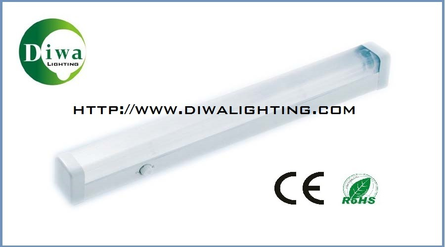 T8 Fluorescent Fitting with CE, RoHS, IEC Approval (DW-T8DFX)