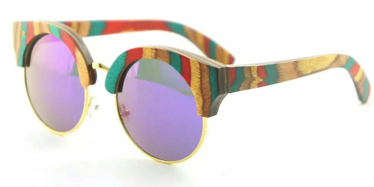 New Popular Fashion Style Wooden Bamboo Sunglasses