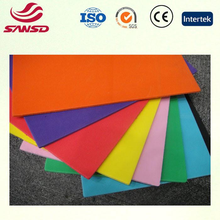 Colorful EVA Foam Sheet Foam Sheet Raw EVA Material