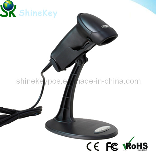Barcode Automatic Laser Scanner with Stand (SK 9100)
