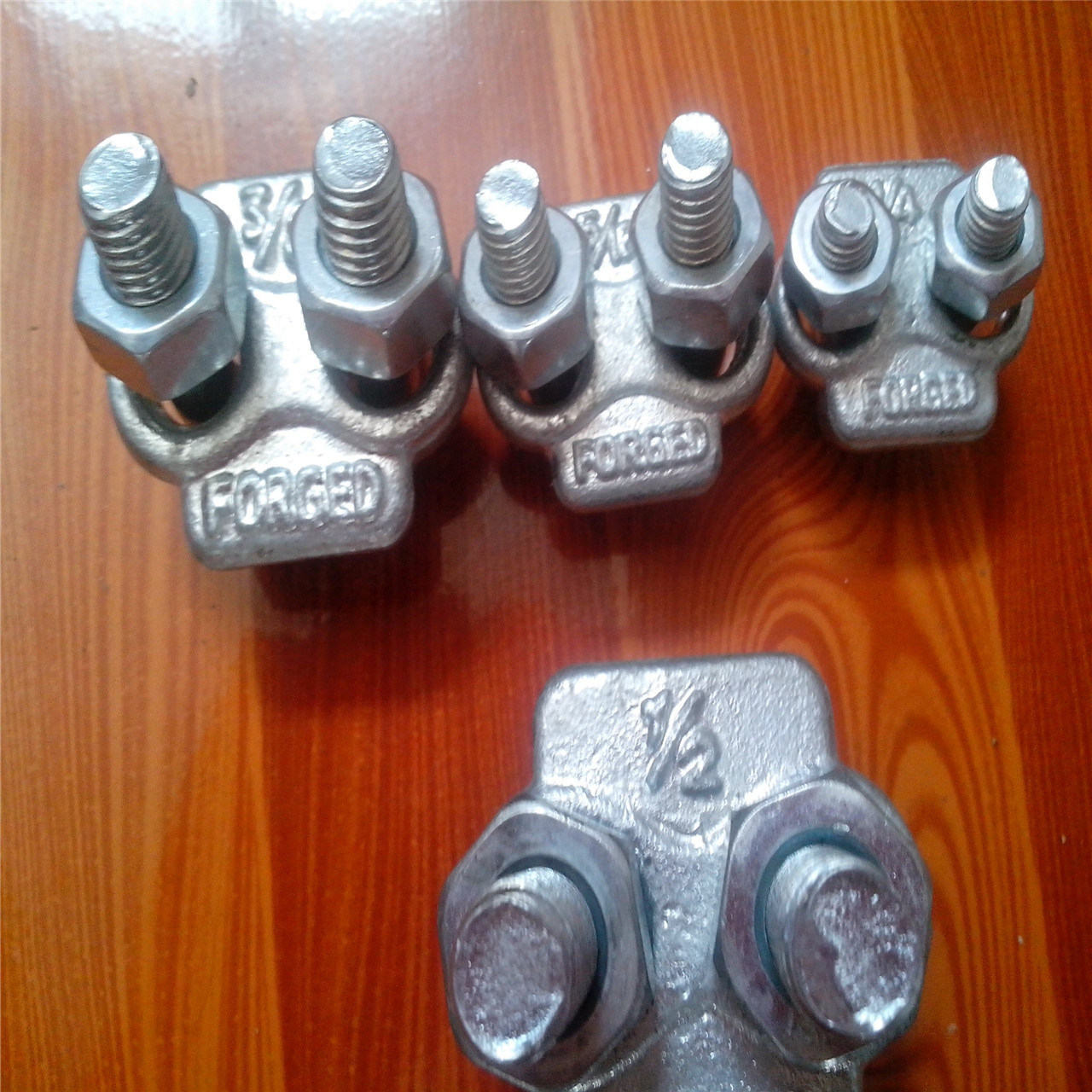 """Forged Us Wire Rope Clip 1/8-3"""""""