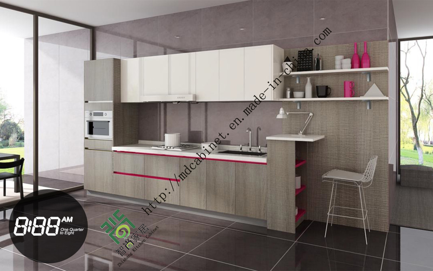 China horizontal modern uv kitchen cabinet brand names photos pictures made in - Kitchen cabinets brand names ...