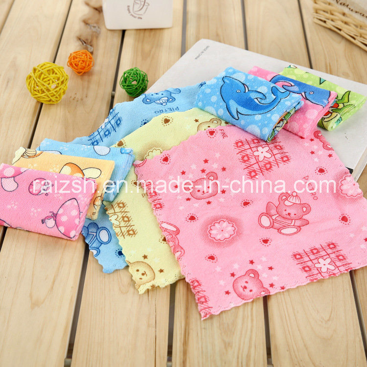 Microfiber Cleaning Cloth Small Square Rag Promotional Gifts