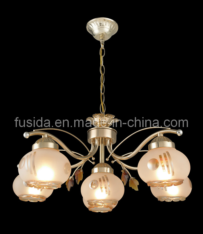 2014 Graceful Modern Chandelier Lighting with Iron Wire Shade (D-9195 series)