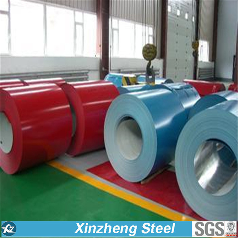 Pre-Painted Color Coated Galvanzied Steel Coil PPGI (0.14--1.3mm)
