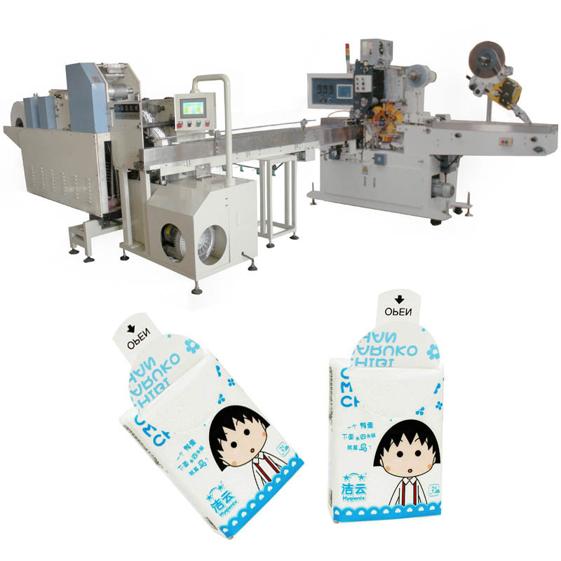 Pocket Tissue Paper Cutting Converting Machine