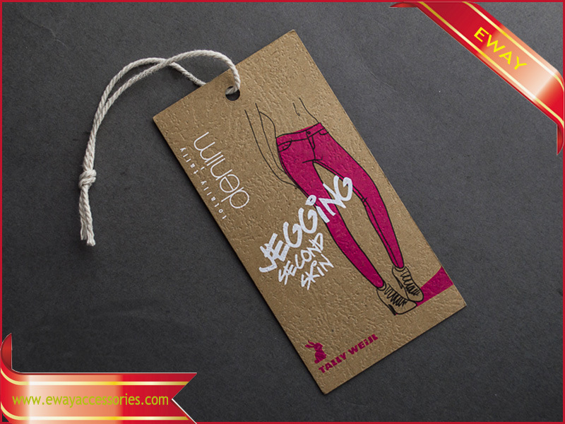 Hang Tag Hangtag Paper Tag for Garment (HT-EW-18)