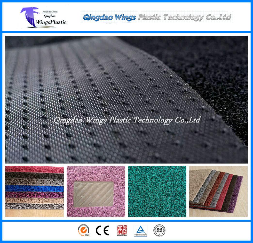 PVC Coil Mat, Coil Car Mat, Cushion Mat with Diamond Backing