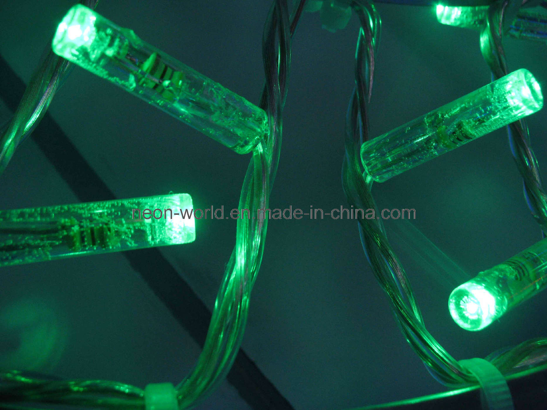 String Of Green Lights : China Green LED String Lights (24V, waterproof, decorative) - China Led String Lights, Red Led ...