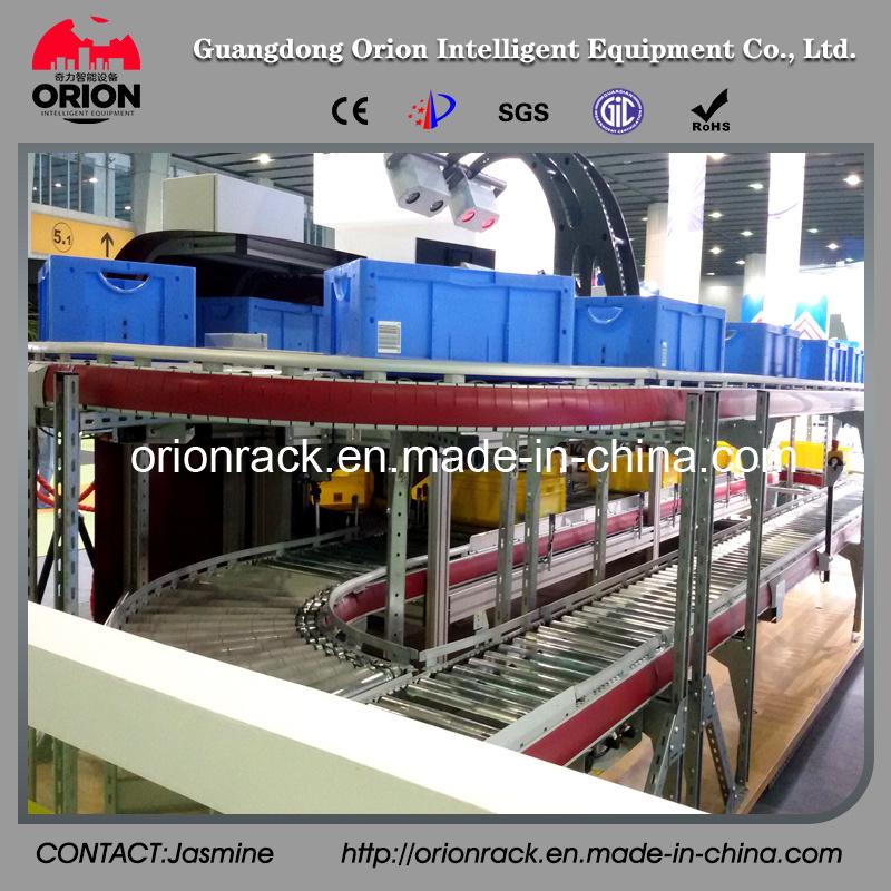 Steel Structure Warehouse Self Slide Rack Shelves