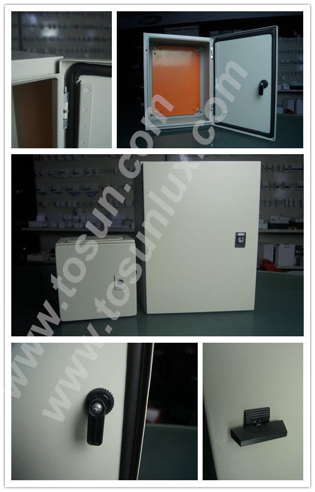Waterproof Metal Enclosure with Wall Mounted Panel Board IP65