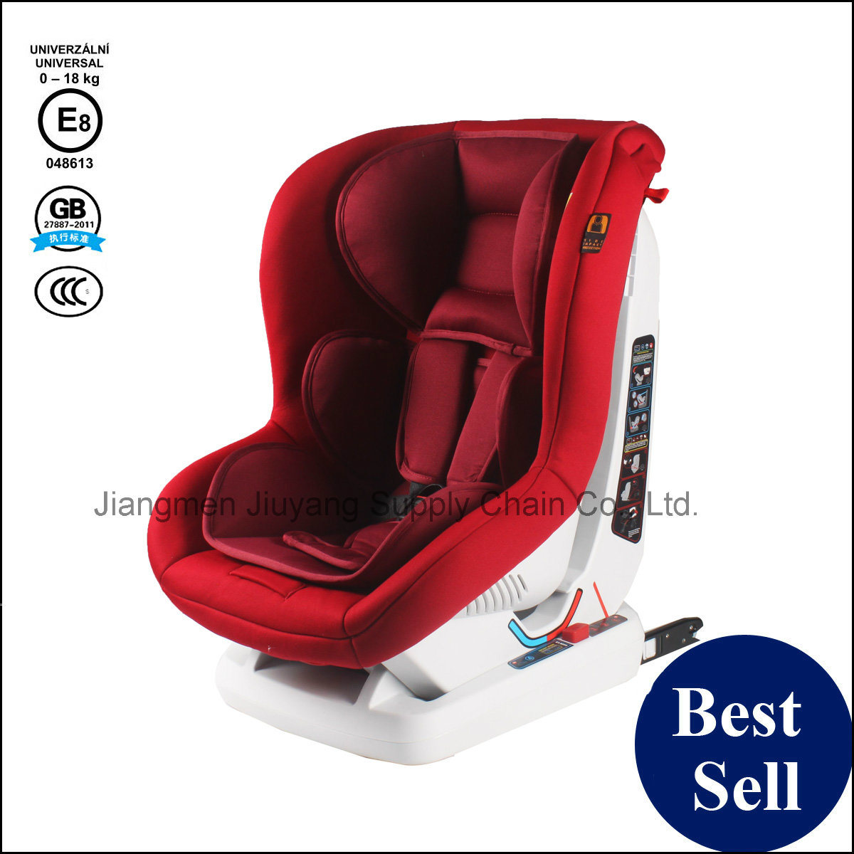 Baby Safety Car Seat with ECE GB 3c Certification for Newborn to 4 Years Child