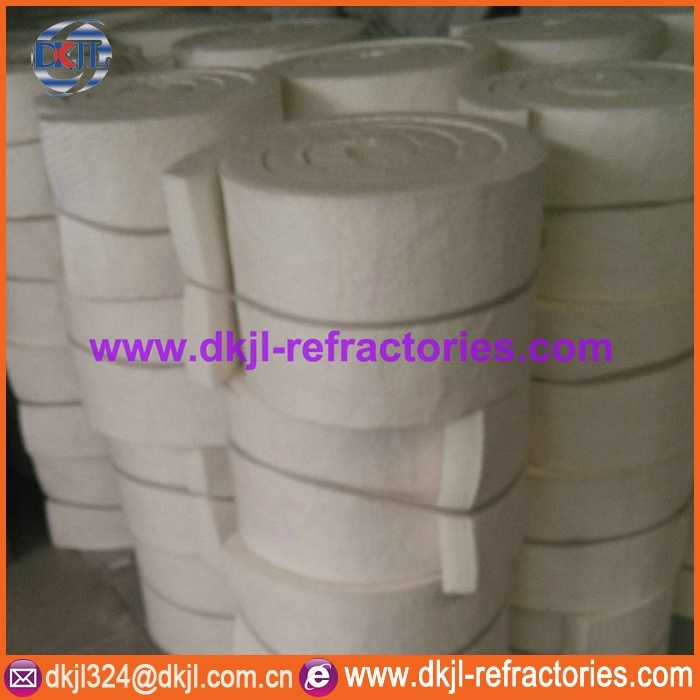 Fire Proof Insulation Ceramic Fiber Blanket (1100C to 1430C)