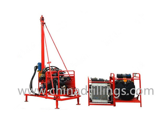 Seismic Shothole Man Portable Drilling Rig