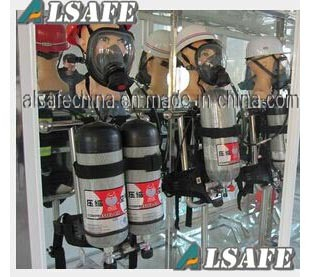Long Tube, Multi- Scba Carbon Tanks Support Breathing Apparatus