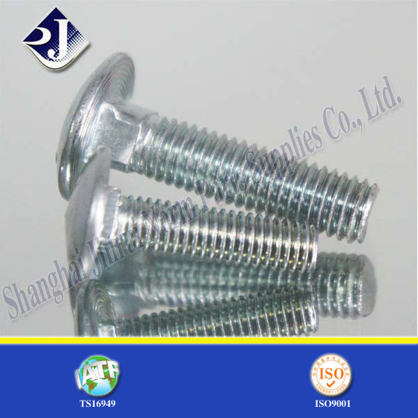Grade 5 Zinc Plated Round Head Bolt (ASME 18.5)