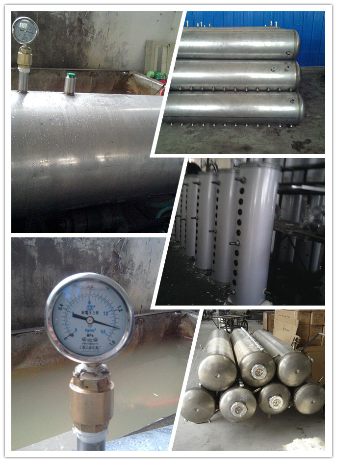 Heatpipe High Pressure Solar Water Heater (FT-SS-HP)