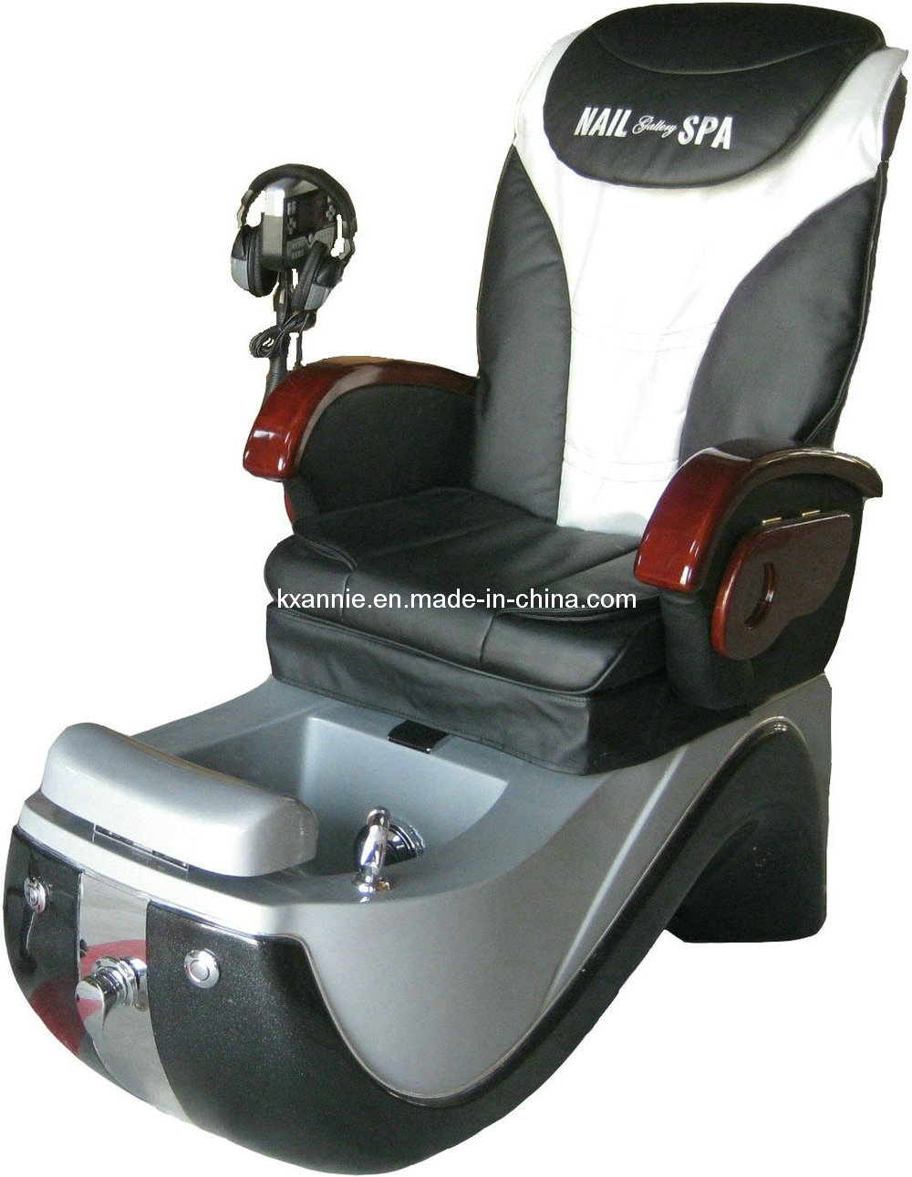 La silla regia de pedicure del masaje del balneario valida for Sillas para pedicure