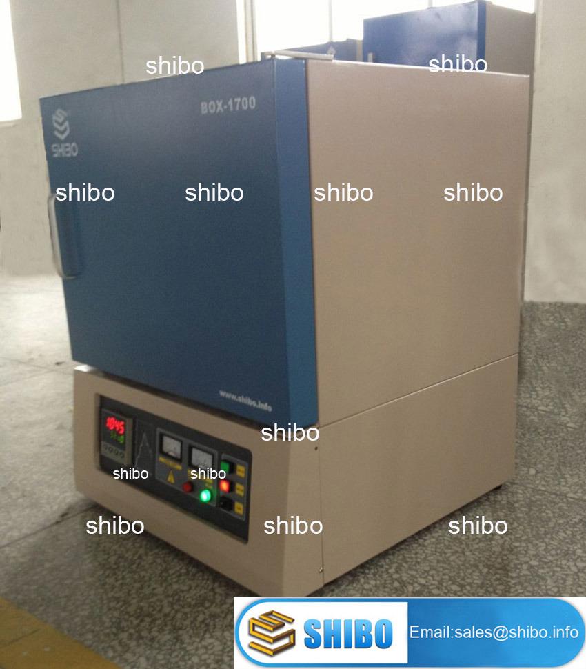 1700 Lab Electric Box Muffle Furnace