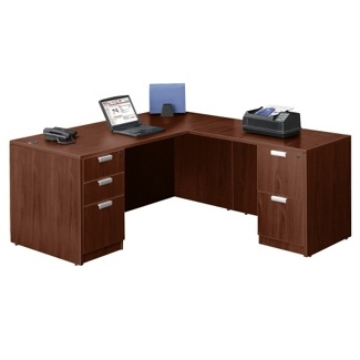 New Modern Walnut Office Furniture Manager Desk