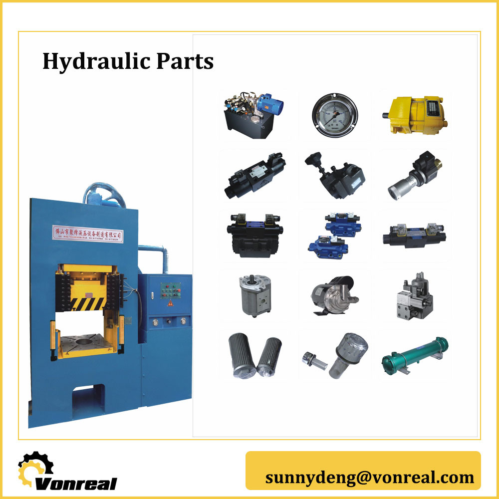 Hydraulic Components for H Frame Hydraulic Press Machine