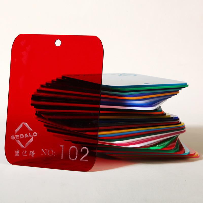 Translucent Red Cast Acrylic Sheet (SDL-102)
