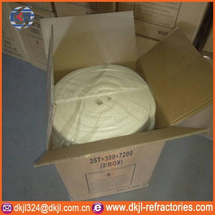 Furnace Wall Insulation HP 1260 Ceramic Fiber Blanket