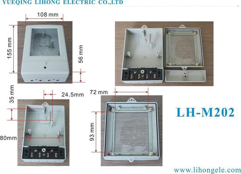 Single Phase Electric Meter Case, Kwh Meter Box (LH-M202)