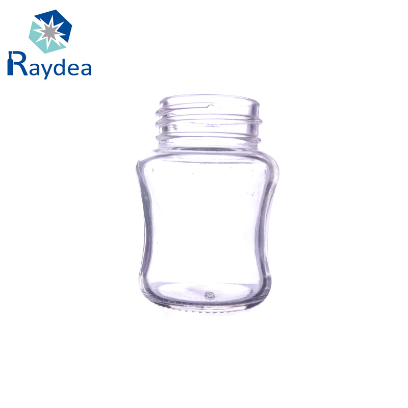 2oz Glass Bottle for Baby Feeding with Standard Mouth