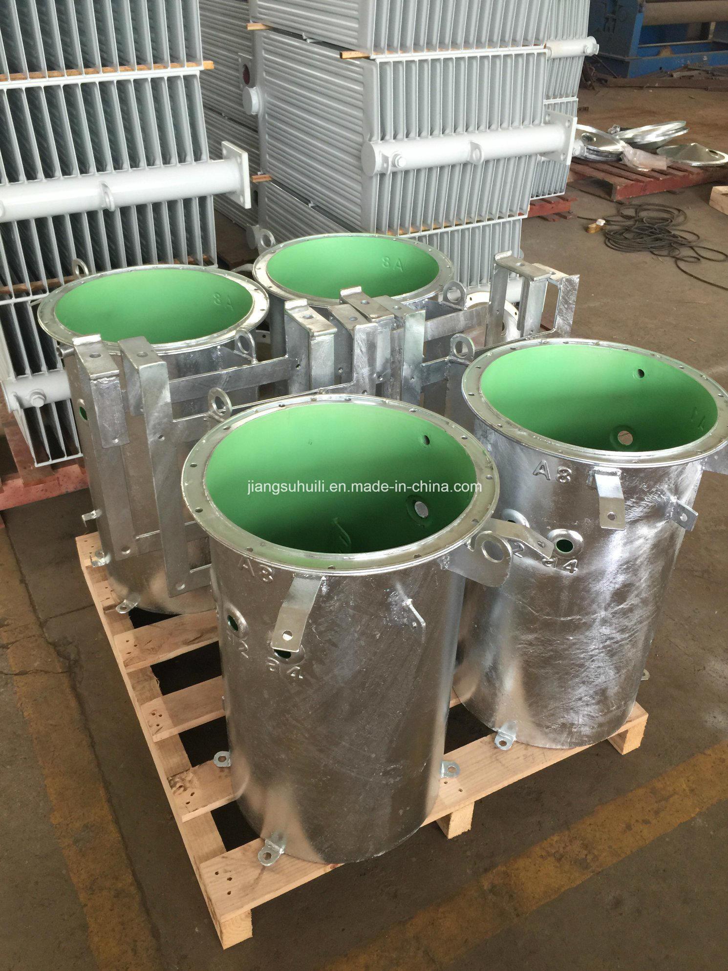 50 kVA Galvanised Transformer Round Tanks
