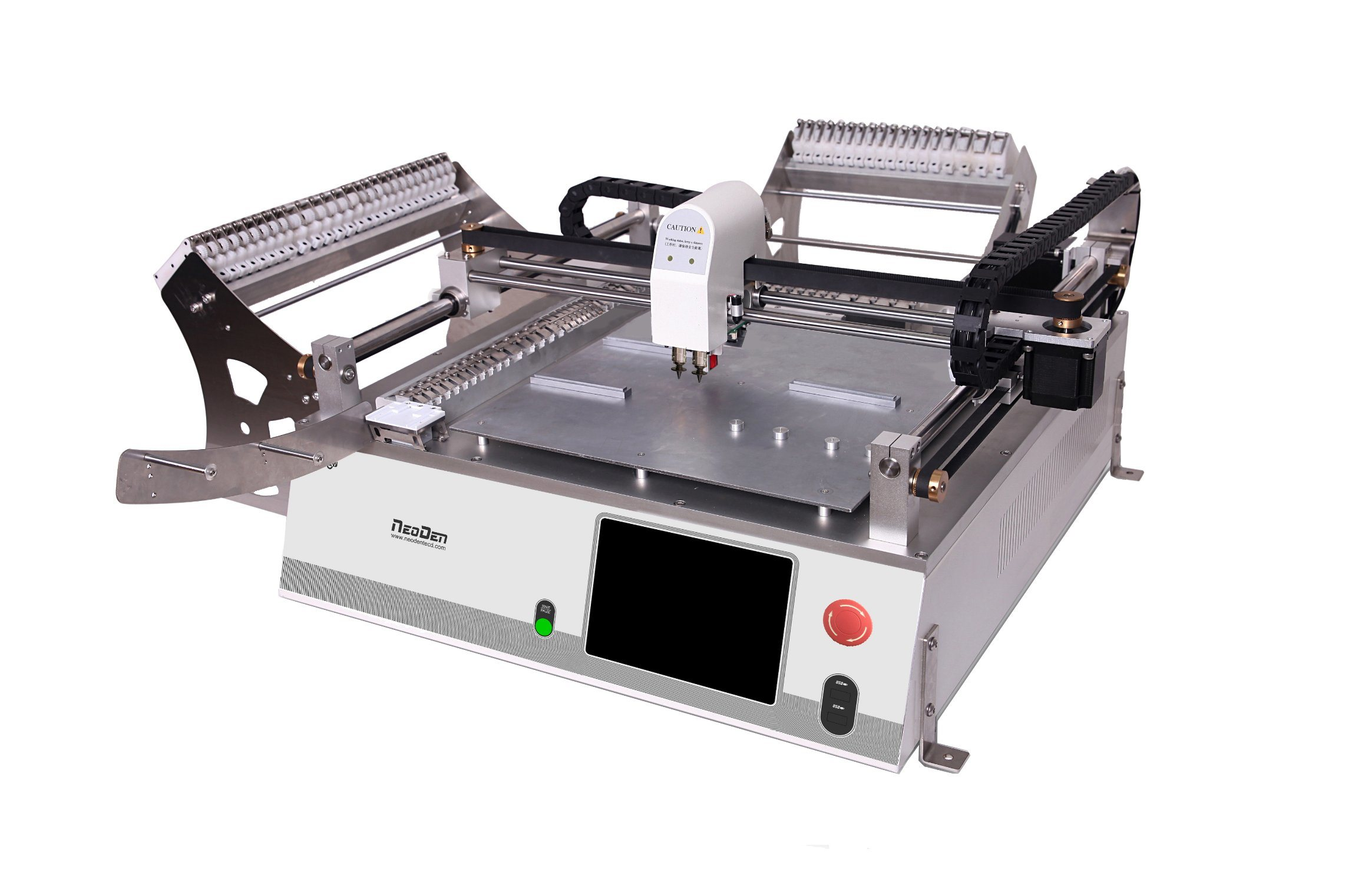 SMT Visual Pick and Place Machine Neoden3V with 44 Feeders!
