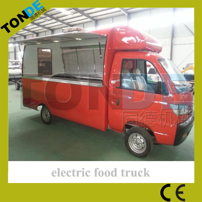 Mobile Food Car Electric Food Truck