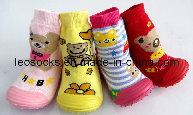 2016 New Fashion Baby Shoe Socks