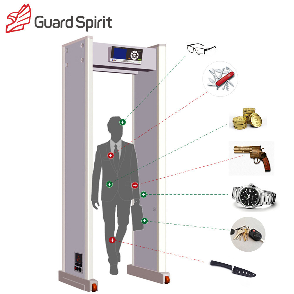 Security Equipment Walk Through Metal Detector