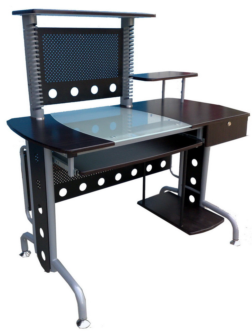 Glass Computer Desk (GT-800) - China Computer Desk, Office Table