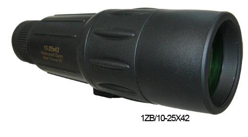 Best Selling HD Zoom Waterproof Monoculars Telescope (1ZB/10-25X42)