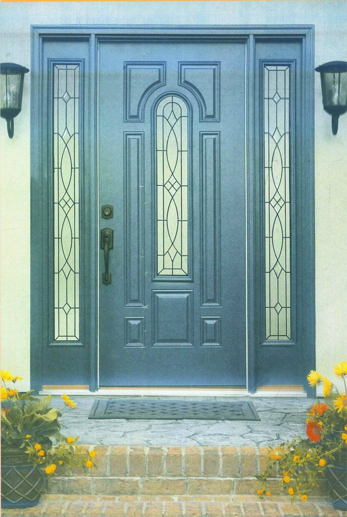 1650 #2F4E61 Home Entrance Door: Fiberglass Entrance Door picture/photo Fibreglass Exterior Doors 41191107