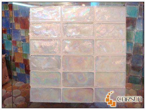 Iridescent Glass Tile