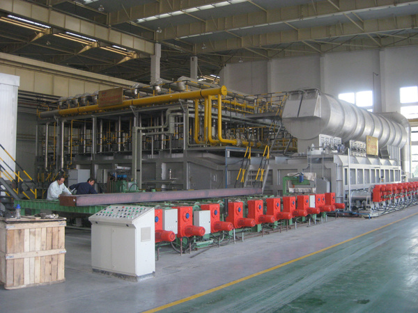Walking Beam Heating Furnace for Metal Ingot