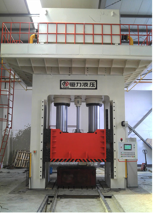 H Frame Composites Molding Hydraulic Press