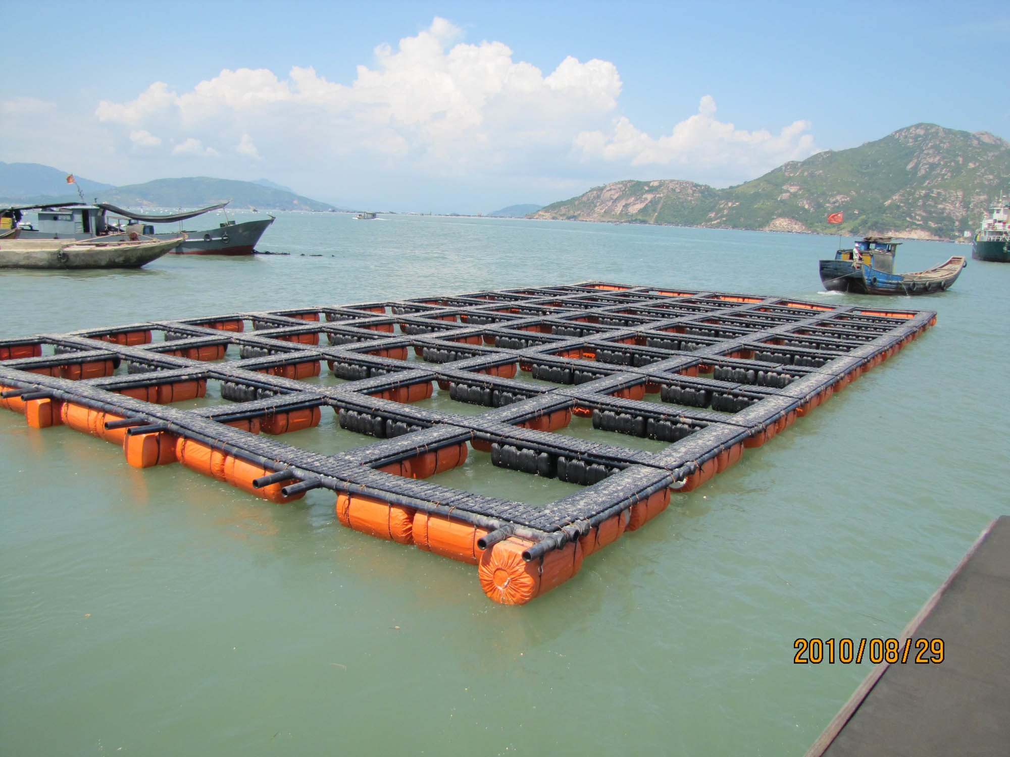 China aquatec floating fish cage photos pictures made for What is fish farming