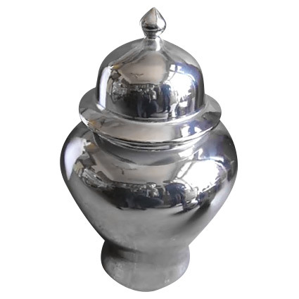 Porcelain Big Temple Jar (LW217)